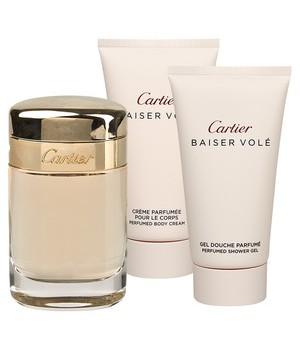 Cartier Baiser Vole W Edp 50ml+ B/L 50ml+ S/G 50ml