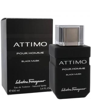 Духи (аромат) Salvatore Ferragamo Attimo BLACK MUSC для мужчин