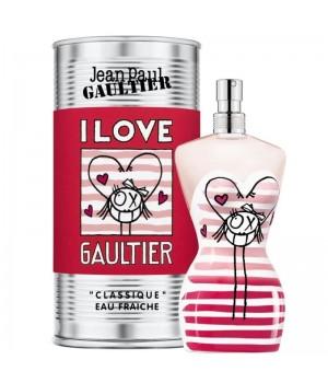 Духи (аромат) Jean Paul Gaultier CLASSIQUE EAU FRAICHE ANDRE EDITION (I LOVE) для женщин