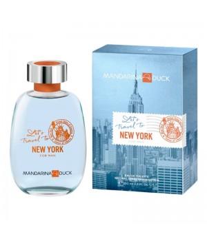 Духи (аромат) Mandarina Duck Let's Travel to New York for Man для мужчин